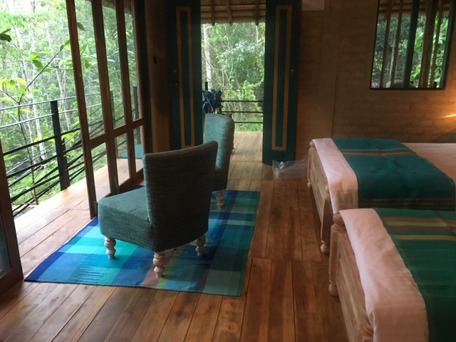Double Beds at Ramba's Eco Lodge