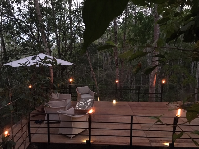 Out Dining Area at Ramba's Eco Lodge